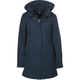 Jack Wolfskin Ottawa Coat Women, midnight blue